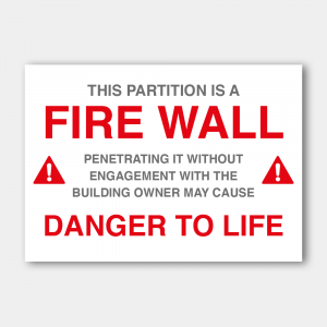 Fire Wall Stickers