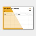 Monthly Milestones