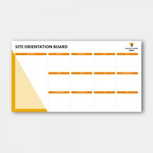 Site Orientation Board
