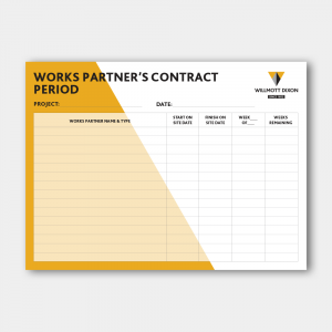 Work Partners Contact Period